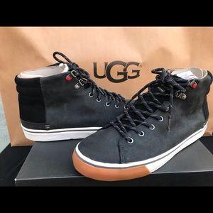 Men's UGG Hoyt waterproof black high tops #9